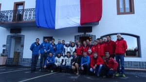 French national team of ski mountaineering